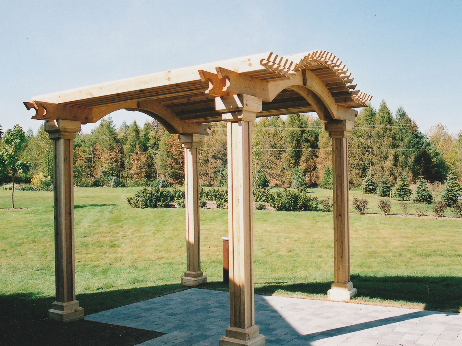 Custom Cedar Arbor profile
