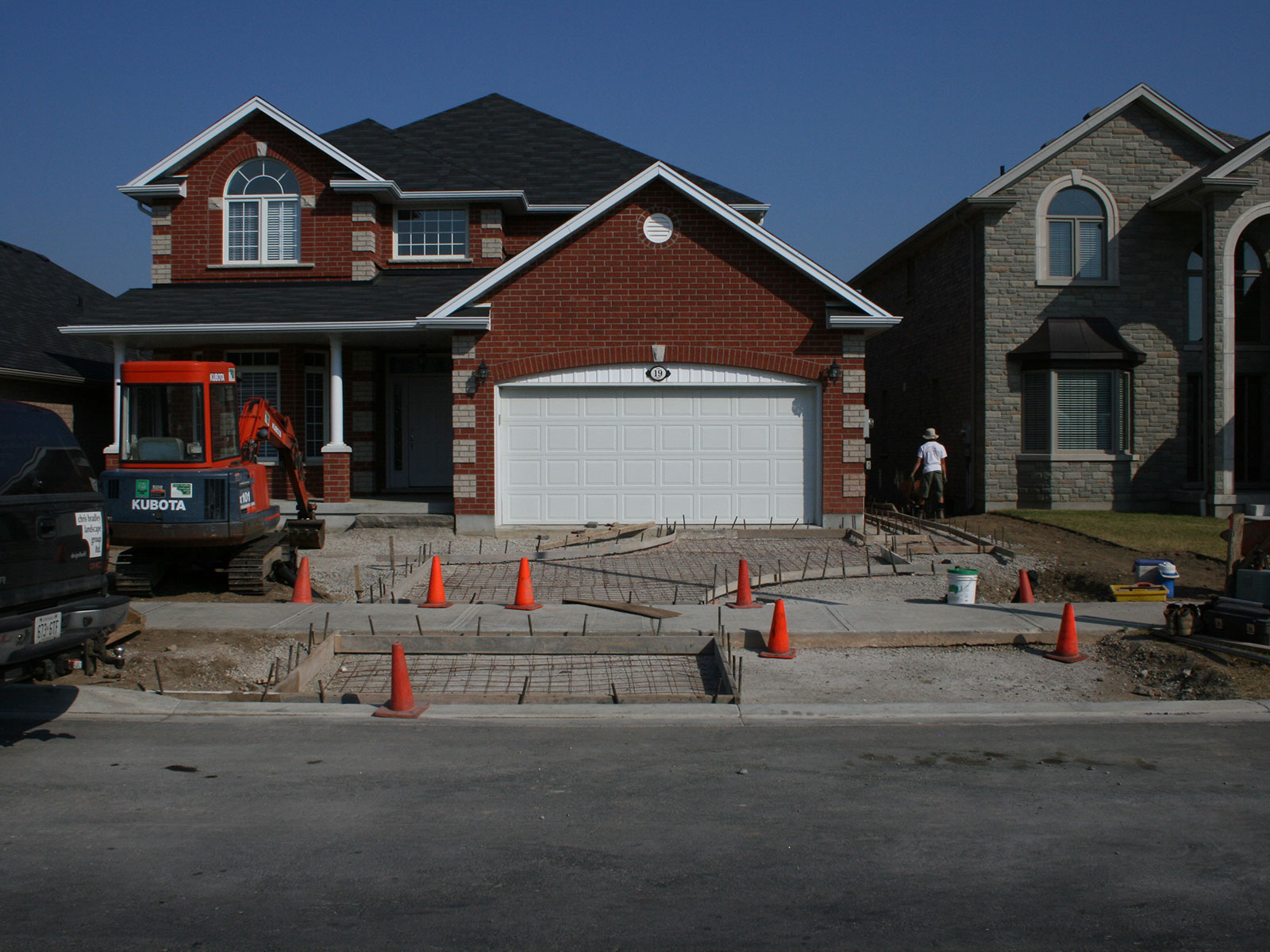 Custom Driveway Build - Guelph