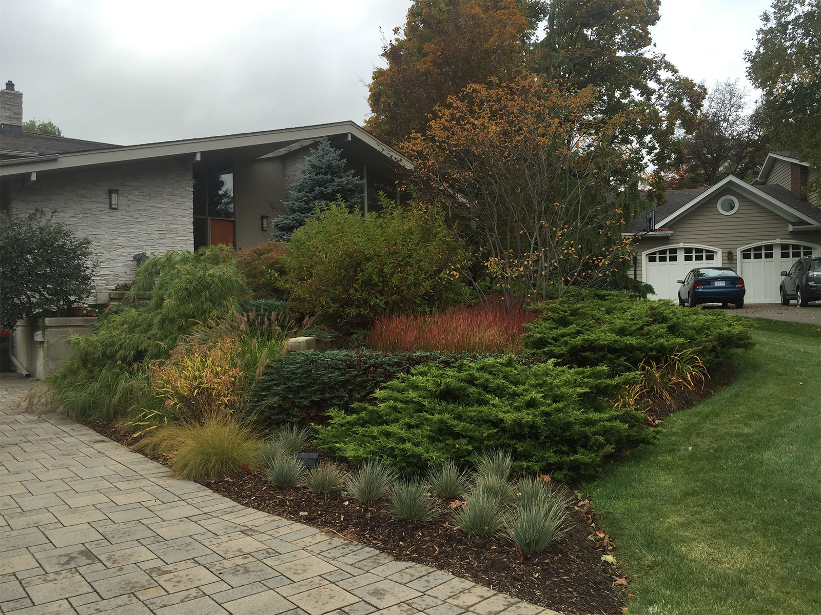 Fall Residential Landscape Plantings