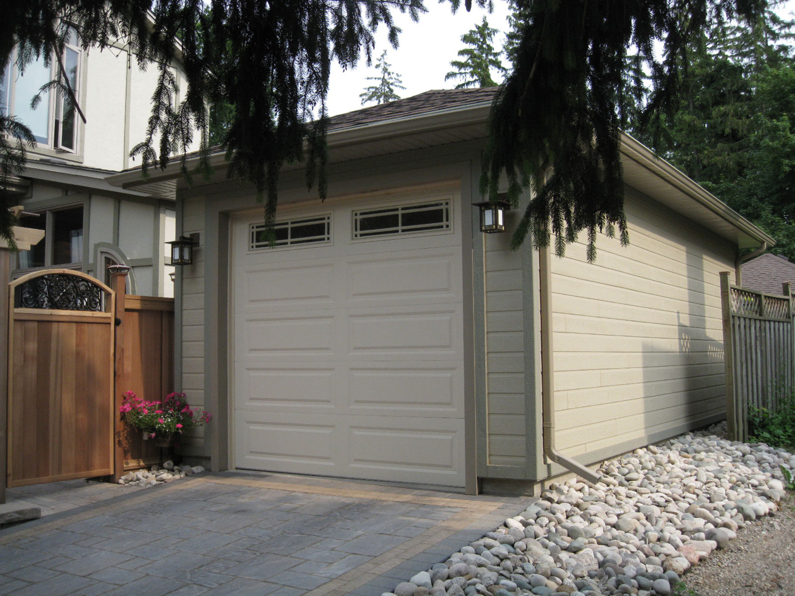 Maibec Sided Garage - New Build