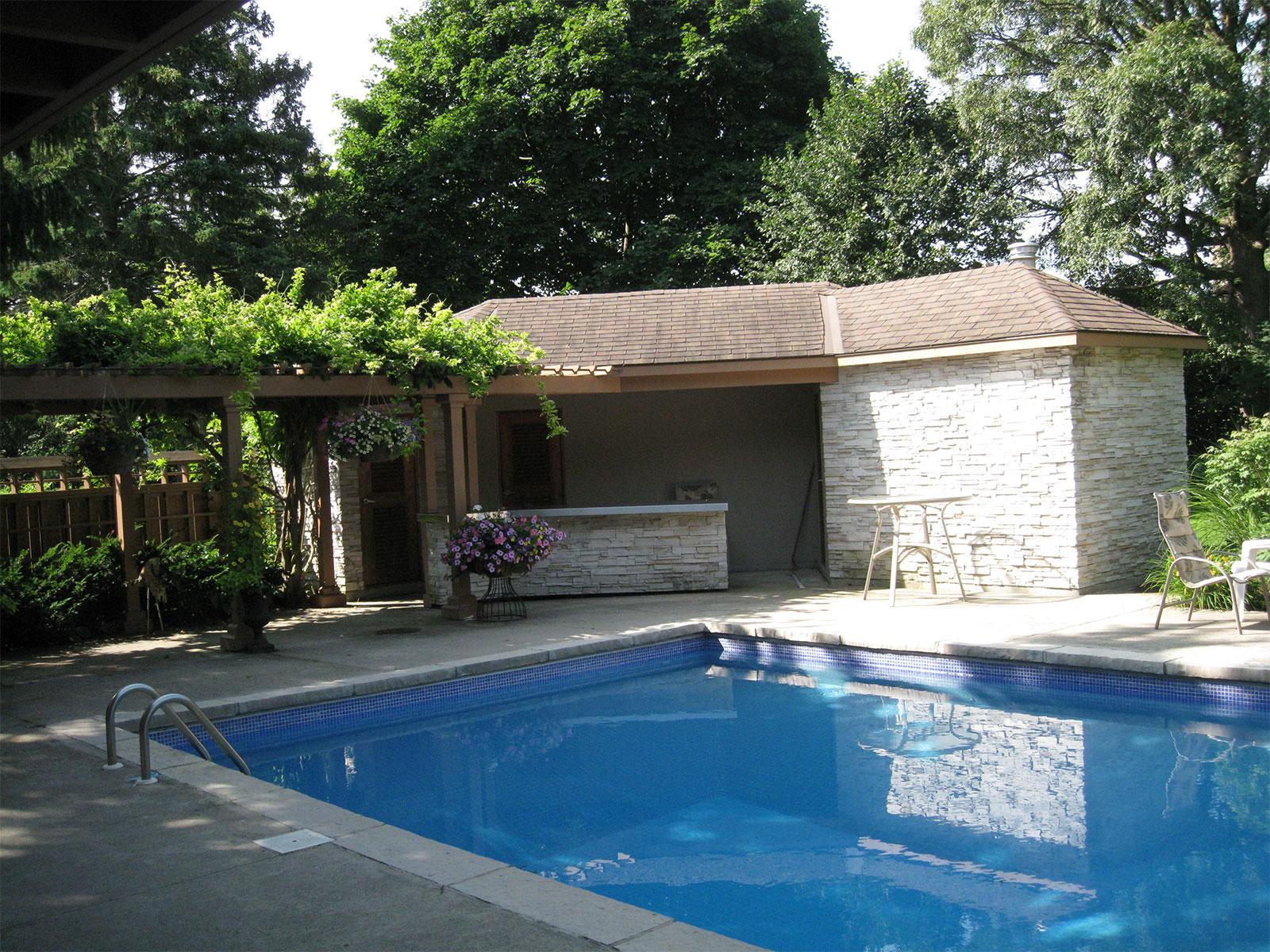 Pool Cabana - Arbor