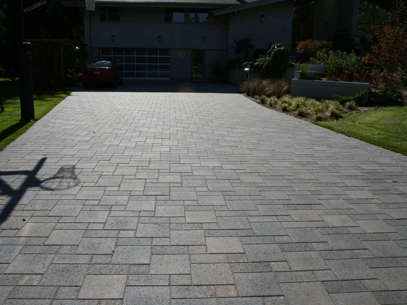 Unilock Europaver Concrete Paver Driveway