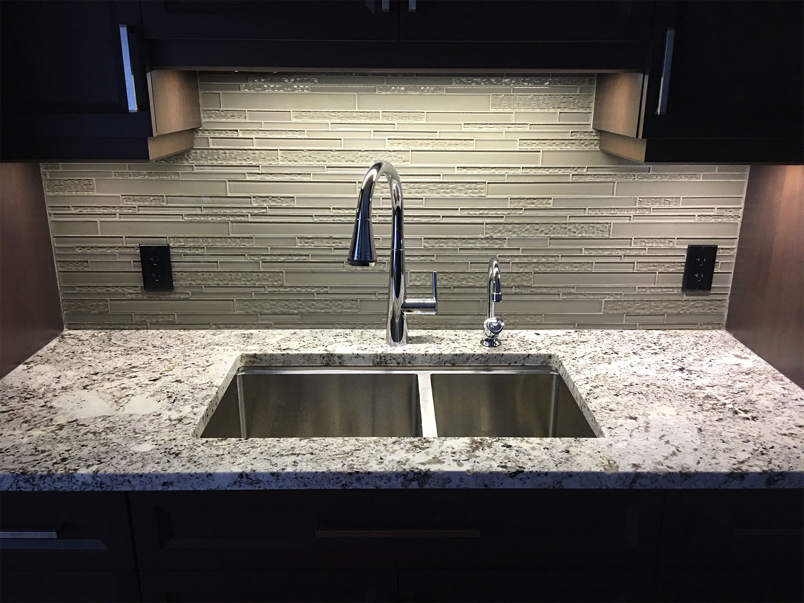 American Standard Faucet Glass Back Splash
