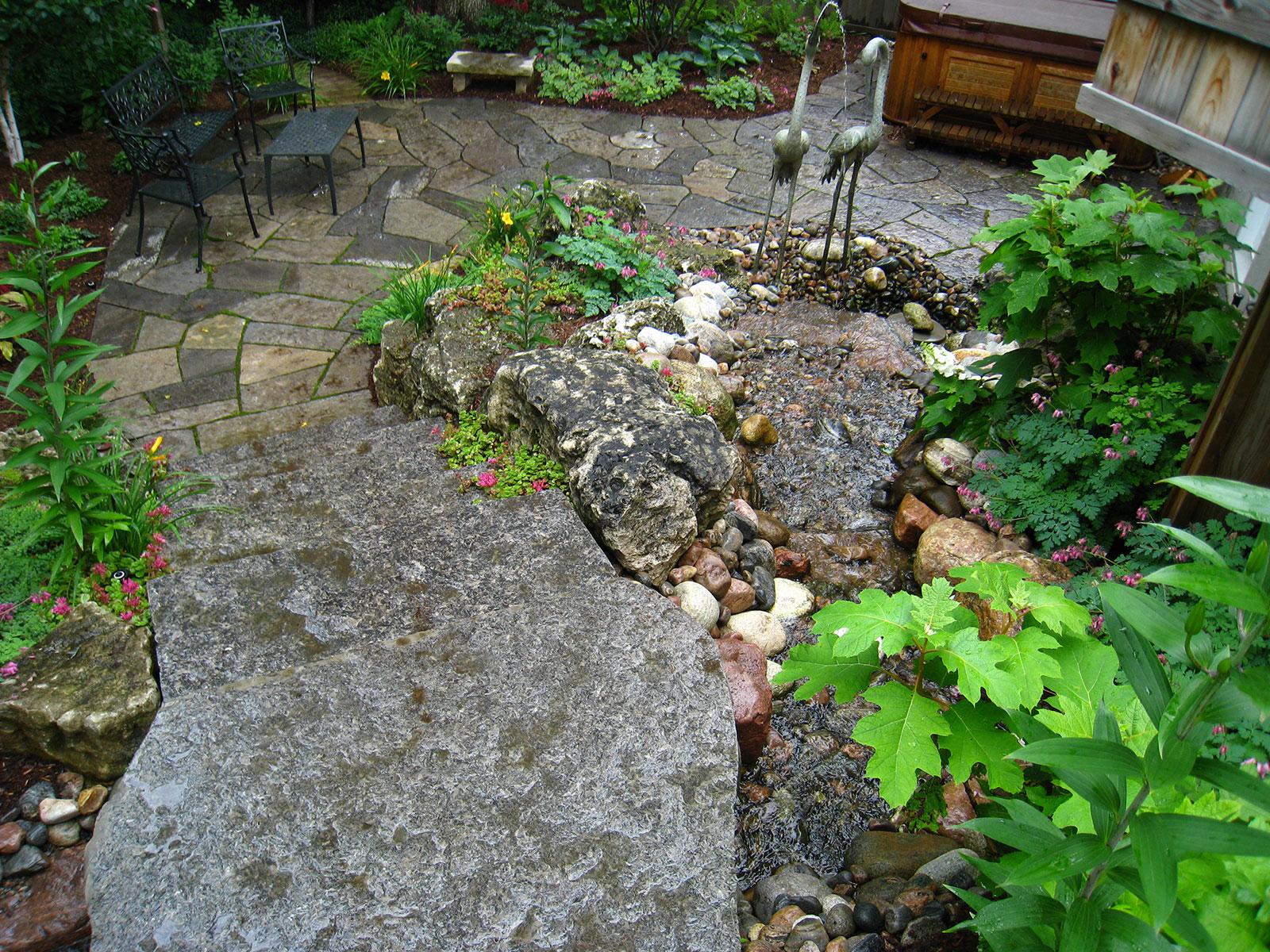 Aquascape small bio fall pond