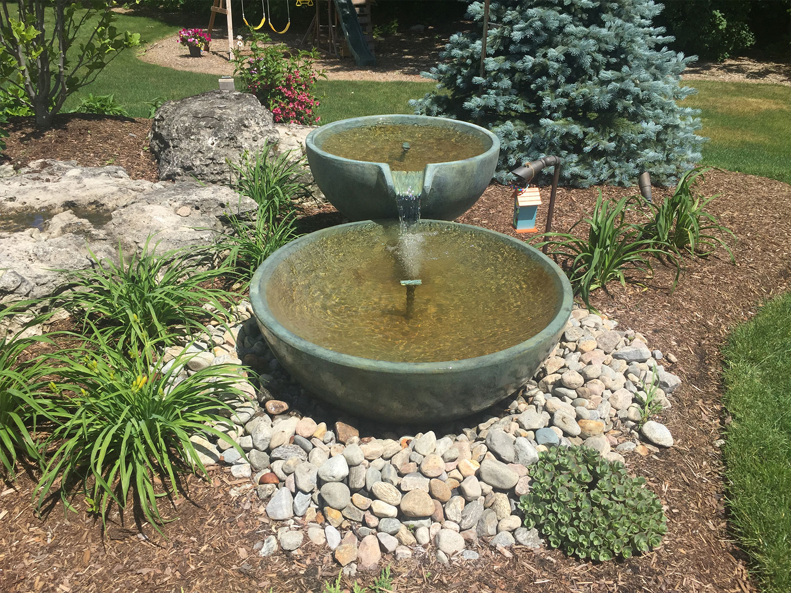Aquascape Spillway Bowl water feature