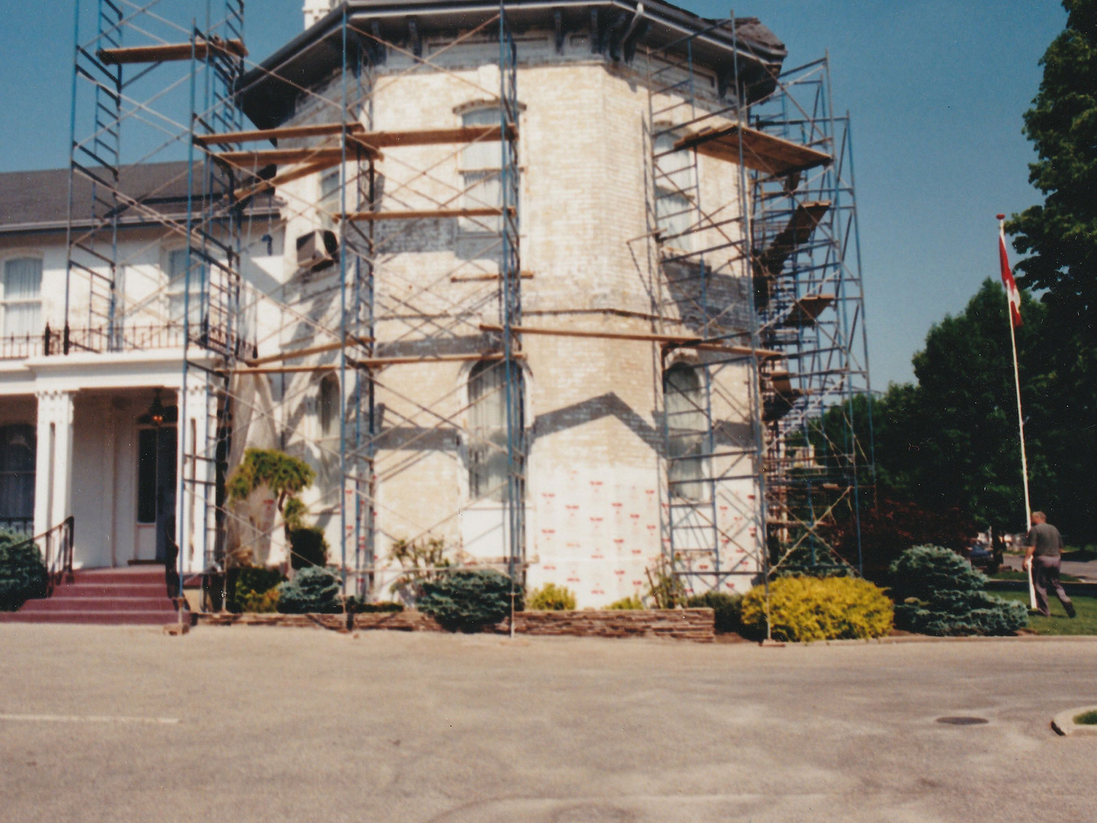 Heritage Building Restoration under Construction