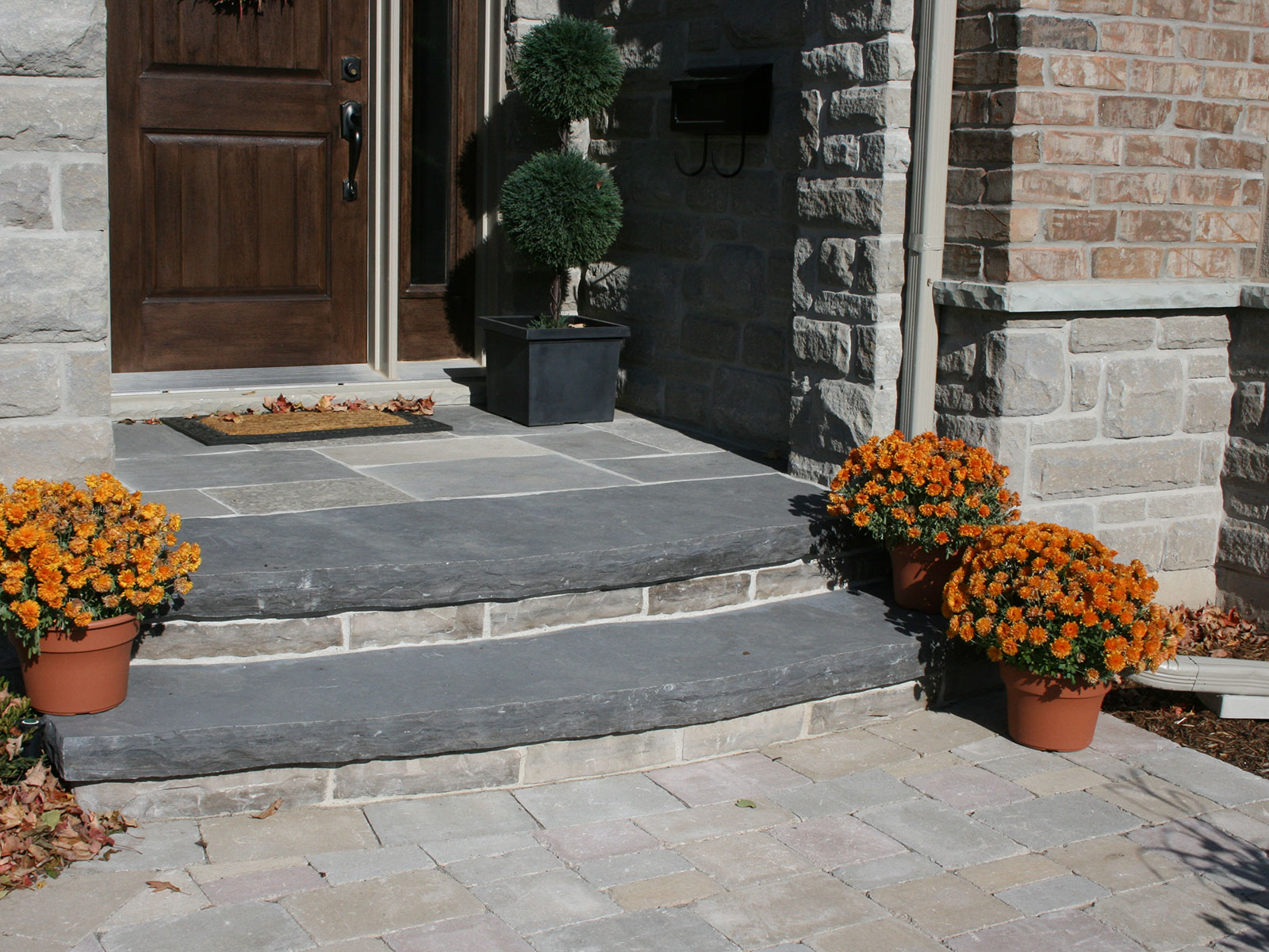 Limestone Steps and Random Square Landing